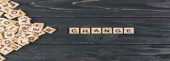 Types of change – انواع التغيير